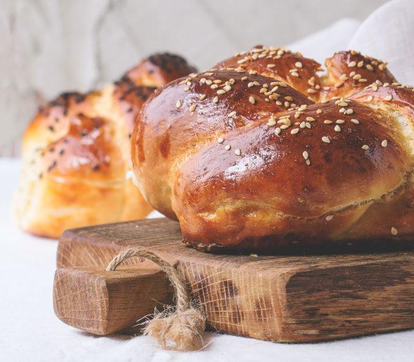 Sesame Seed White Loaf